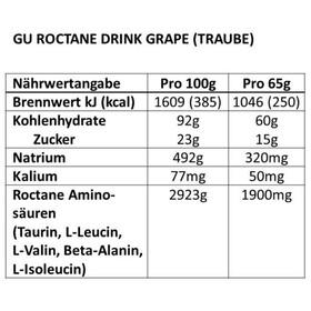 GU Energy Roctane Ultra Endurance napój energetyczny opakowanie 780g, Grape